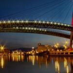 Pescara di notte - Ponte sul mare