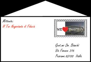 Lettere personalizzate ai clienti del nostro territorio