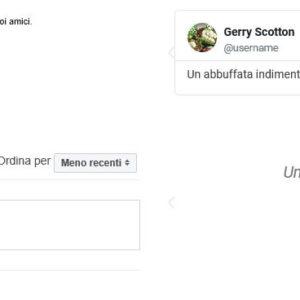Funzioni di condivisione Facebook, testimonianze e recensioni per vetrina welovepescara.it
